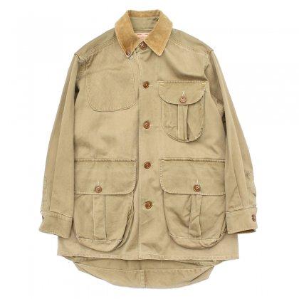 古着 通販 ヴィンテージ ハンティング ジャケット【1950's-】【Bob Allen】コットン ギャバジン