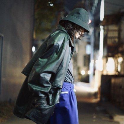古着 通販 80's Leather Jacket Style with Original School Pants