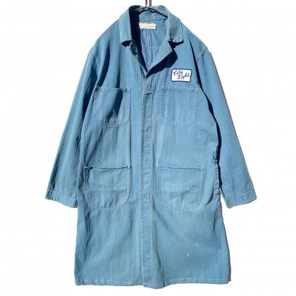 古着 通販 ヴィンテージ ワーク ショップコート【1950's】Vintage Shop Coat