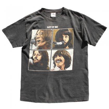 古着 通販 ビートルズ【The Beatles】【LET IT BE】プリント T シャツ