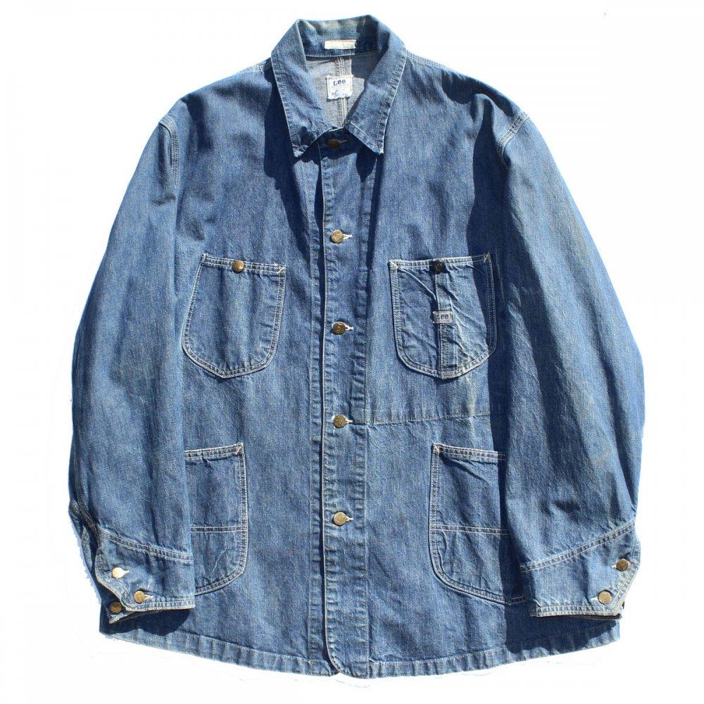 古着 通販 リー【Lee 91-J】ジェルトデニム ヴィンテージ カバーオール【1960s-】 Vintage Railroader Jacket