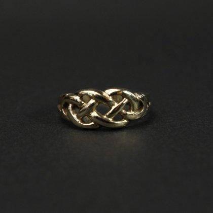 古着 通販 ヴィンテージ ケルティックノット リング【Made in ENGLAND】【375 9ct Gold】Celtic knot
