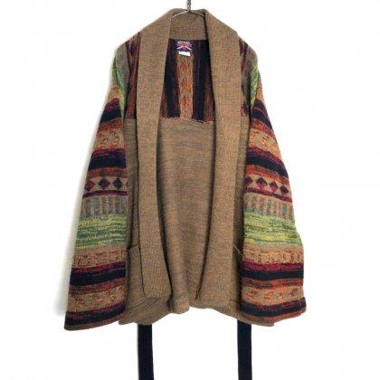 古着 通販 ヴィンテージ ニットガウン【1980's】【BRITTANIA】Vintage Robe Cardigan