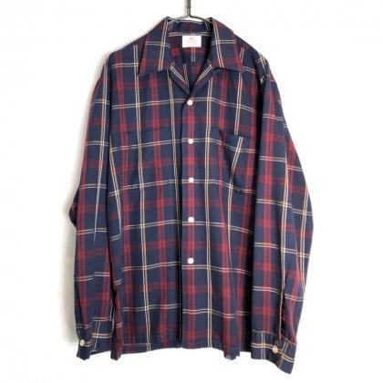 古着 通販 ヴィンテージ オープンカラーシャツ【1960's】【DONEGAL】Vintage Open Collar Shirt