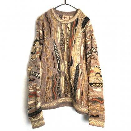古着 通販 クージー【COOGI】ヴィンテージ クルーネック ニット【1990's】Vintage Crazy Knitting Crewneck Sweater