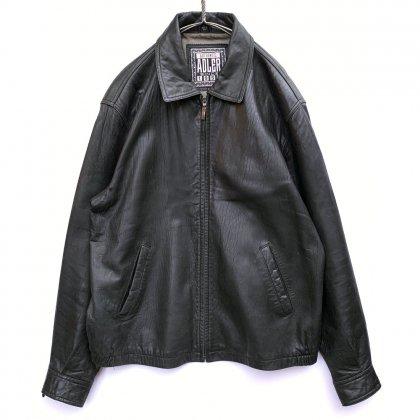古着 通販 ヴィンテージ ビッグシルエット レザージャケット【1990's】【ADLER】Vintage Big Silhouette Leather Jacket