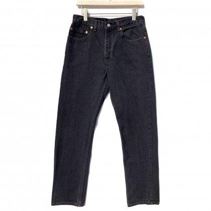 古着 通販 リーバイス 505 ブラック【Levis 505-0260 Made in USA】【1990's】Vintage Black Denim Pants W-32 L-32