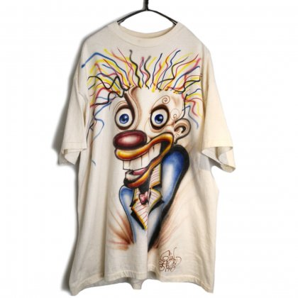 古着 通販 ヴィンテージ ハンドペイント Tシャツ【1990's】【Colin Ashford】Vintage Hand Painted T-Shirt