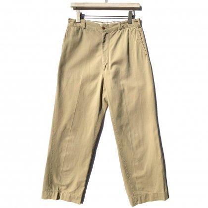 古着 通販 【U.S.ARMY】ミリタリー チノトラウザーズ【1960s-】Vintage Chino Trousers W-30