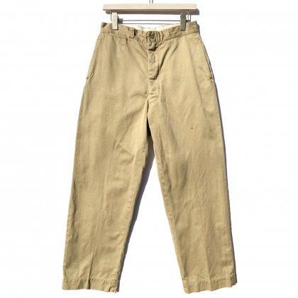 古着 通販 【U.S.ARMY】ミリタリー チノトラウザーズ【1950s-】Vintage Chino Trousers W-30