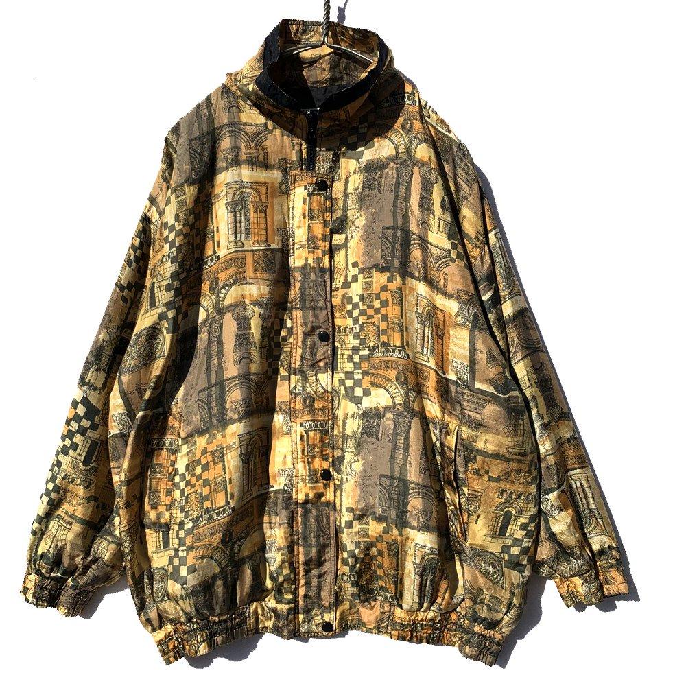 古着 通販 ヴィンテージ シルク ブルゾン ジャケット【1980's-】 Vintage Silk Blouson