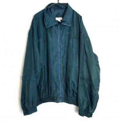 古着 通販 ヴィンテージ ジップアップ シルクジャケット【1980's】【BOGARi】Vintage All Silk Zip Jacket