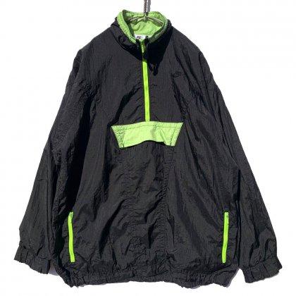 古着 通販 ナイキ【NIKE ELITE】ヴィンテージ ハーフジップ ナイロンジャケット【1990's-】Vintage Nylon Jacket
