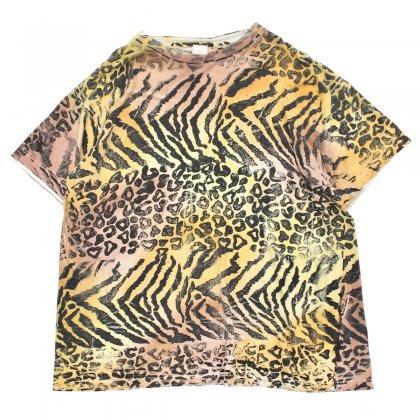 古着 通販 ヴィンテージ オールオーバー プリント Tシャツ【Unknown Brand】【1980's-】アニマル プリント
