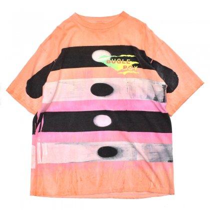 古着 通販 ビューグル ボーイ【BUGLE BOY】ヴィンテージ オールオーバー プリント Tシャツ【1980's-】コンテンポラリーアート