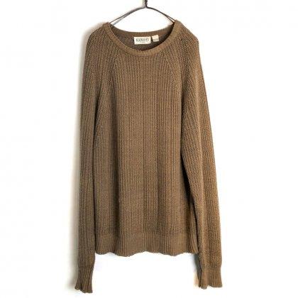 古着 通販 ヴィンテージ クルーネック コットン ニット【1990's】【cacharel】Vintage Crewneck Spring Sweater