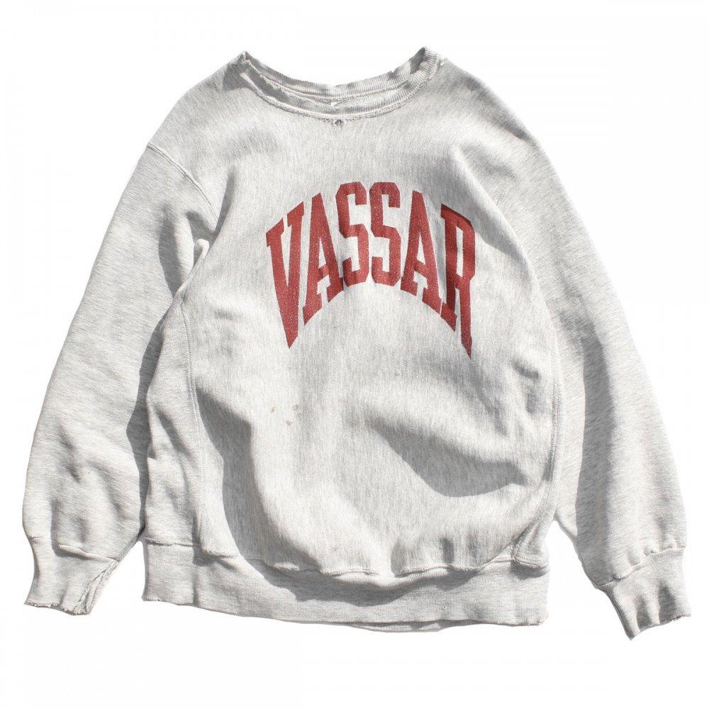 古着 通販 チャンピオン リバースウィーブ ヴィンテージ スウェット【Champion】【VASSAR】【1990's-】Silver GR