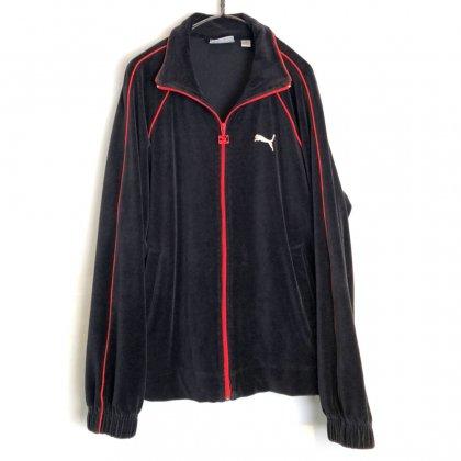 古着 通販 プーマ【PUMA】ヴィンテージ ベロア トラックジャケット【1990's】Vintage Velour Track Jacket