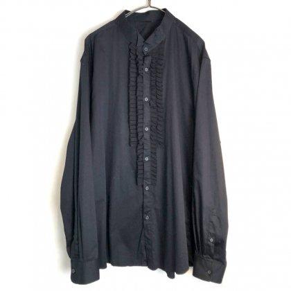 古着 通販 ヴィンテージ ウィングカラー フリル ドレスシャツ【1990's】Vintage Wing Collar Frill Dress Shirt