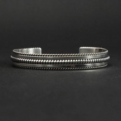 古着 通販 ナバホ ヴィンテージ シルバーバングル【STERLING】Coin Silver Twisted Wire