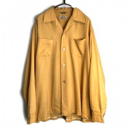 古着 通販 ヴィンテージ オープンカラー レーヨンシャツ【1950's】【Stradivari】Vintage  Open Collar Rayon Shirt