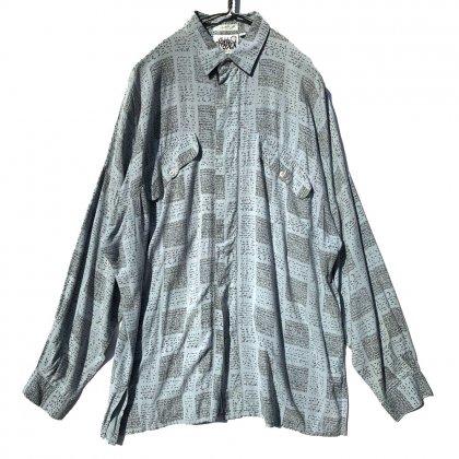 古着 通販 ヴィンテージ ビッグシルエット レーヨンシャツ【1980's】Vintage Big Silhouette Rayon Shirts