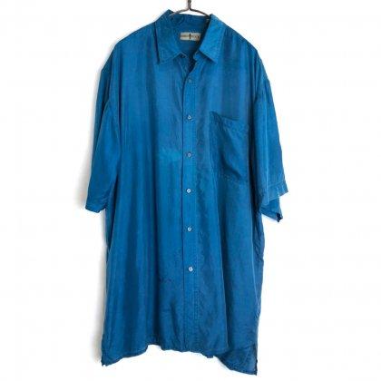 古着 通販 ヴィンテージ S/S シルクシャツ【1980's】【ROBERT STOCK】Vintage Short Sleeve Silk Shirt