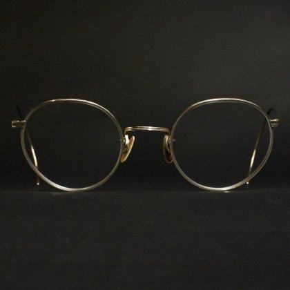 古着 通販 アメリカンオプティカル ヴィンテージ メガネ【American Optical】【FULL VUE 12KGF】【Late 1930's~】ラウンド メタルフレーム