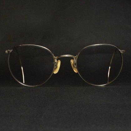 古着 通販 アメリカンオプティカル ヴィンテージ メガネ【American Optical】【FULL VUE 12KGF】【Late 1930's~】 46-22