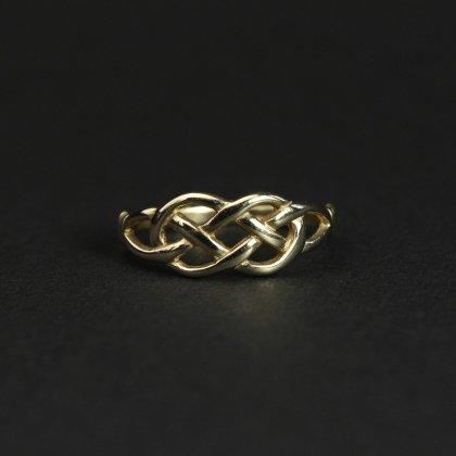 古着 通販 ヴィンテージ ケルティックノット リング【Made in ENGLAND】【375 9ct Gold】Celtic knot #10