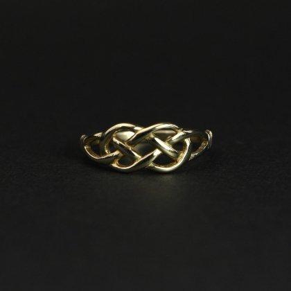 古着 通販 ヴィンテージ ケルティックノット リング【Made in ENGLAND】【375 9ct Gold】Celtic knot #12