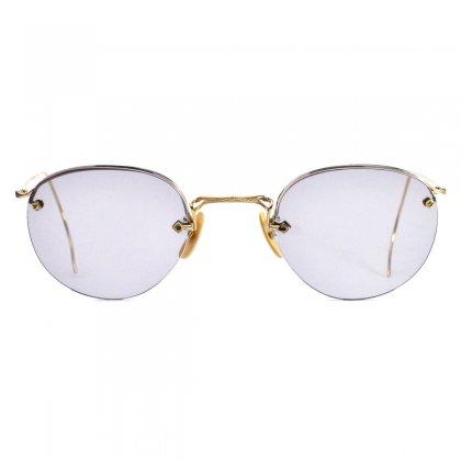 古着 通販 アメリカンオプティカル ヴィンテージ メガネ【American Optical】【RIM WAY 12KGF】【1940's-】 46-24