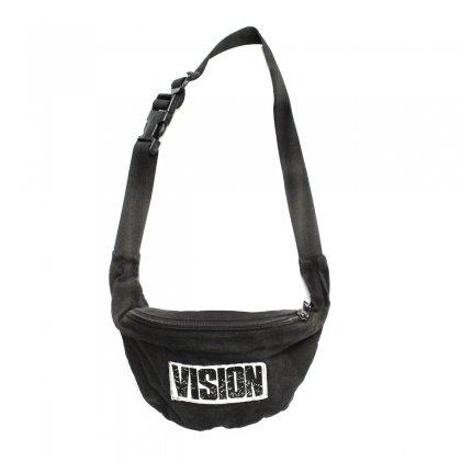 古着 通販 ヴィンテージ ヒップ バッグ ウエスト ポーチ【VISION STREET WEAR】【1990's-】ブラック