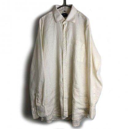 古着 通販 ヴィンテージ リネンシャツ【1980's-】【ELIA.G】Vintage All Linen Shirt