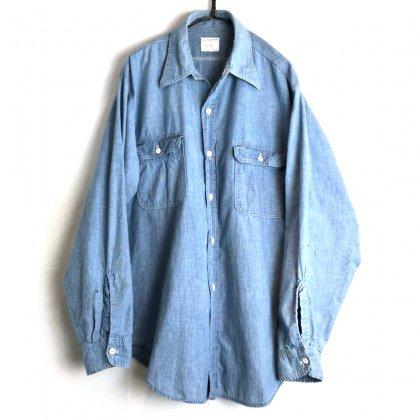 古着 通販 ビッグマック【BIG MAC】ヴィンテージ シャンブレーシャツ【1970's-】Vintage All Cotton Chambray Shirt