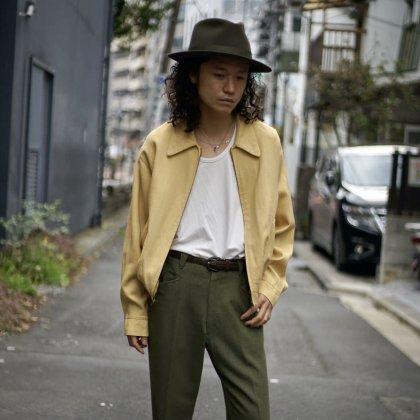 古着 通販 50's Gabardine Jacket × 60's Western Slacks Style