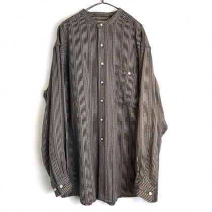 古着 通販 ヴィンテージ バンドカラーシャツ【1980's-】【CITY STREETS】Vintage Band Collar Shirt