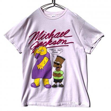 古着 通販 シンプソンズ【The Simpsons】ヴィンテージ Tシャツ【Michael Jackson】【Leaving Neverland】Vintage T-Shirts