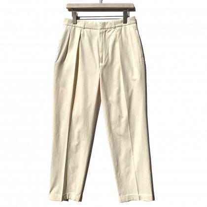 古着 通販 ポロ ラルフローレン【Polo by Ralph Lauren】シルクコットン 2タック トラウザーズ【Silk Cotton-Fabric】2-Tuck Trouser