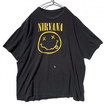 古着 通販 ニルバーナ【NIRVANA】スマイリー プリント Tシャツ【Smiley】【2000s-】Vintage Print T-Shirt