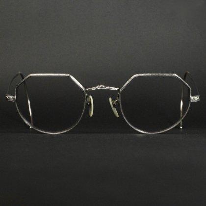 古着 通販 シュロン ヴィンテージ パント メガネ【SHURON】【12KGF White 】【1930's-】オクタゴン メタルフレーム
