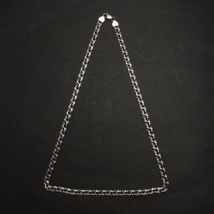 古着 通販 ヴィンテージ シルバー チェーン ネックレス【925 STERLING Silver Russian】 Designed  Heavy Chain