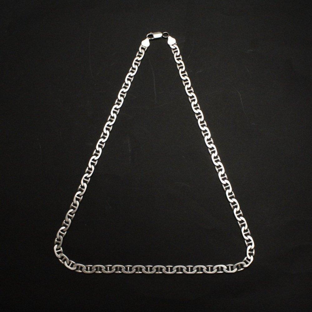 古着 通販 ヴィンテージ シルバー チェーン ネックレス【925 STERLING Silver Italy】Buckle Heavy Chain