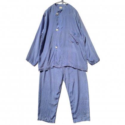 古着 通販 ヴィンテージ セットアップ シルクパジャマ【1960s】【TOPKIS】Vintage Set up Silk Pajamas