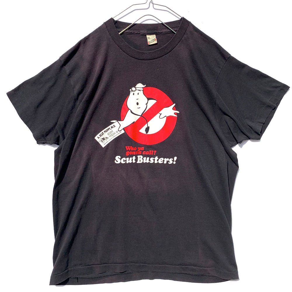 古着 通販 ゴーストバスターズ【Ghostbusters】ヴィンテージ ノーゴースト プリント Tシャツ【1980s-】Vintage Movie T-Shirt