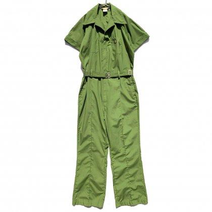 古着 通販 ヴィンテージ S/S オールインワン ジャンプスーツ【1970's】【Walls Industries Inc】Vintage Short Sleeve Jumpsuits