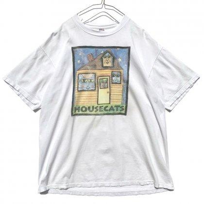 古着 通販 ヴィンテージ 猫プリント Tシャツ【1995's】【Cat House】Vintage Print T-Shirts