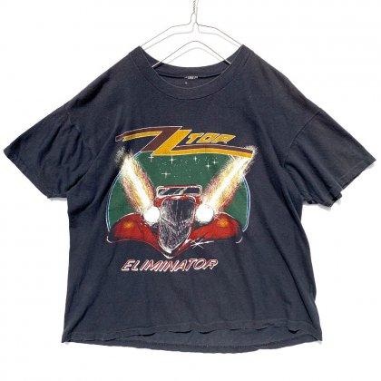 古着 通販 ZZトップ【ZZ Top】ヴィンテージ ツアーTシャツ【Eliminator Tour 1983's】Vintage T-Shirts