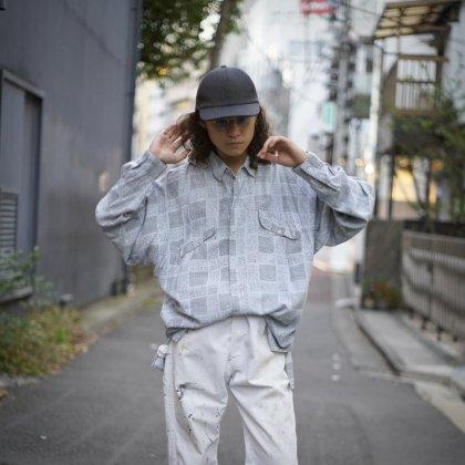 古着 通販 1980's Big Silhouette Rayon Shirts × White Aging Painter Pants
