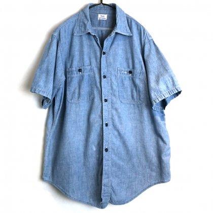 古着 通販 シアーズ【Sears】ヴィンテージ S/S シャンブレーシャツ【1960's】Vintage Short Sleeve Chambray Shirt